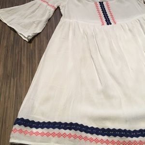 UMGEE embroidered peasant-styled dress